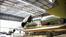 فيديو يكشف مراحل تصنيع أحدث طائرة تابعة لشركة مصر للطيران