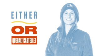 Either, Or: Queralt Castellet Stands by 10% Rule, Prefers Hoodies, and Loves Methods