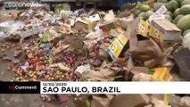 Au Brésil, les fortes pluies paralysent São Paulo