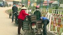 Vietnam coloca una comuna en cuarentena a causa de coronavirus COVID-19