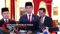 Kepuasan Publik terhadap Pemerintahan Jokowi Periode Kedua Menurun