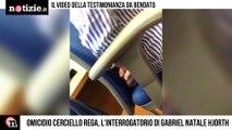 Omicidio Cerciello Rega, il video dell'interrogatorio bendato di Gabriel Natale Hjorth   Notizie.it