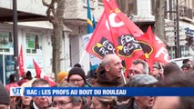 A la Une : Les enseignants sont-ils au bord du burn out / 600 personnes dans les rues contre les retraites / Ils devaient dans la rue à Saint-Etienne / L'amour quand on est ado