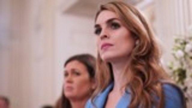 Hope Hicks Leaving Fox to Return to Trump White House | THR News