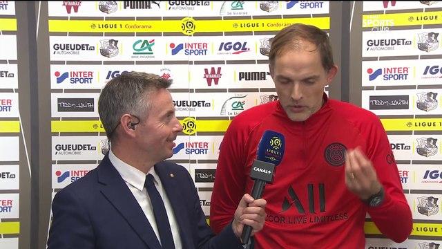 La réaction de Thomas Tuchel après Amiens / PSG - Ligue 1 Conforama