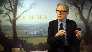 Emma: Bill Nighy talks funny looks and heavy clothes