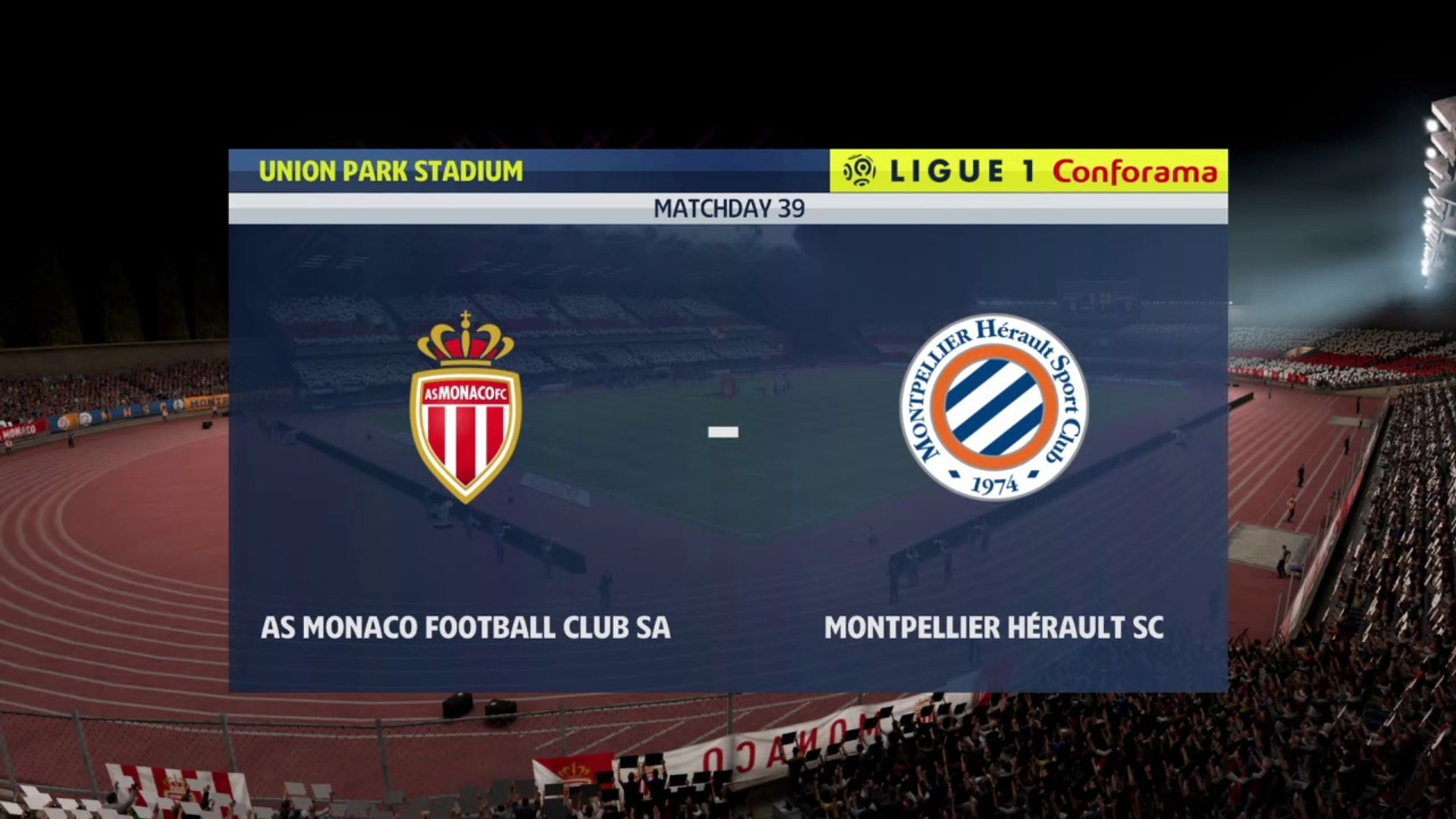 AS Monaco vs Montpellier 2020- Ligue 1 2019-2020 HD