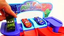 PJ Masks Toy Cars w/ Disney Cars Mcqueen Toys