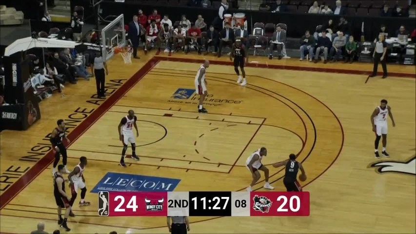 Tre'Darius McCallum (18 points) Highlights vs. Erie BayHawks