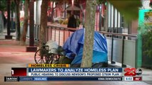 California lawmakers to analyze Governor Gavin Newsom's homeless plan