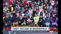 Cindy McCain speaks in Bakersfield