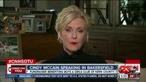 Cindy McCain speaking in Bakersfield