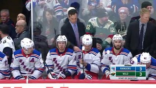 Rangers, Wild tangle in a shootout