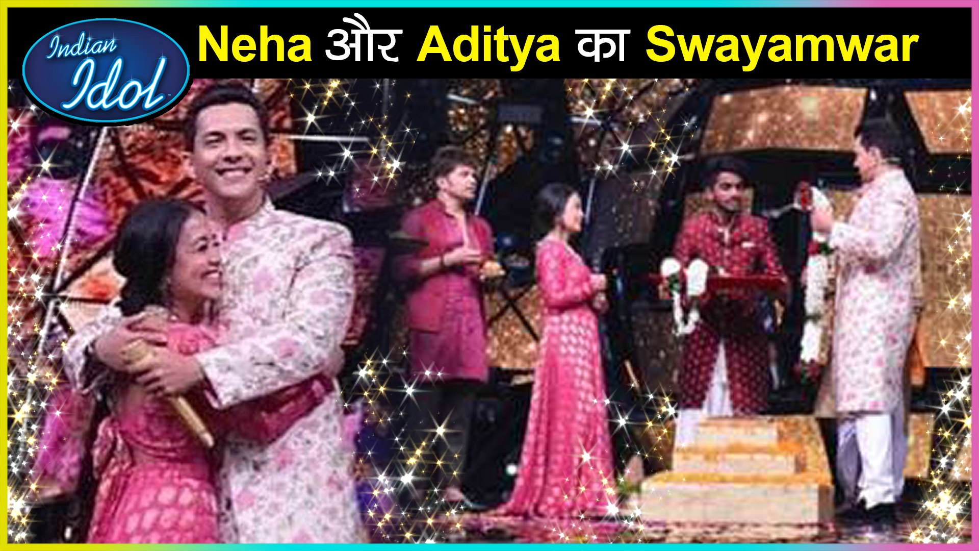 Omg Revealed Neha Kakkar Wedding Glimpses With Aditya Narayan Indian Idol 11 Video Dailymotion