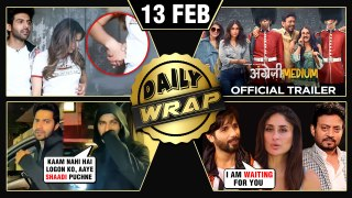 Sara Kartik ROMANCE, Angrezi Medium Trailer, Varun On Marriage With Natasha | Top 10 News