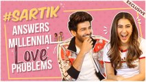 Sara Ali Khan & Kartik Aaryan SOLVE Love ISSUES For Valentine's Day | Love Aaj Kal | EXCLUSIVE