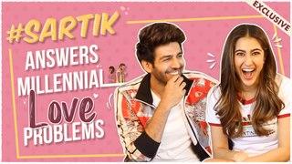 Sara Ali Khan & Kartik Aaryan SOLVE Love ISSUES For Valentine's Day   Love Aaj Kal   EXCLUSIVE