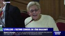 Les adieux d'Isabelle Balkany lors de son dernier conseil municipal à Levallois-Perret