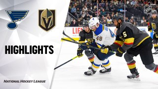 Vegas Golden Knights vs. St. Louis Blues - Game Highlights