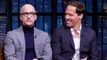 Nat Faxon and Jim Rash Share Awkward Encounters from Filming Downhill in Austria