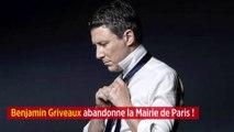 Mairie de Paris : Benjamin Griveaux renonce !
