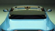 Aston Martin Vantage Roadster Interior Design in Studio