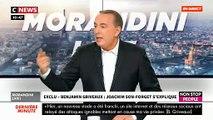 """EXCLU - Griveaux: Le député Joachim Son-Forget, qui a relayé le lien vidéo sur Twitter, s'explique dans un échange tendu dans """"Morandini Live"""" - VIDEO"""
