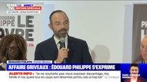 """Édouard Philippe """"respecte"""" la décision de Benjamin Griveaux et lui apporte """"son soutien"""""""