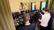 Boris Johnson chairs first meeting of his new Cabinet