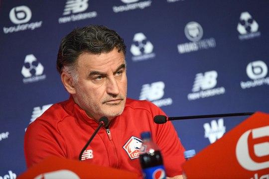 LOSC - OM : la conférence de presse d'avant-match de Christophe Galtier.