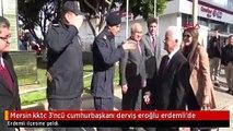 Mersin kktc 3'ncü cumhurbaşkanı derviş eroğlu erdemli'de