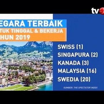 Indonesia Masuk dalam Daftar Negara Terbaik untuk Tinggal