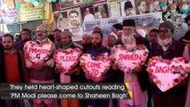 Shaheen Bagh protesters invite PM Modi to celebrate Valentine's Day