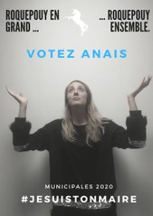 Anaïs, candidate aux élections municipales à Roquepouy, le teasing