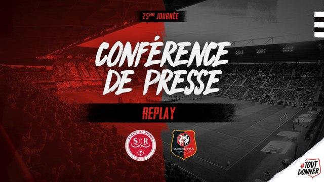 J25. #SDRSRFC. Replay de la conférence de presse d'avant-match