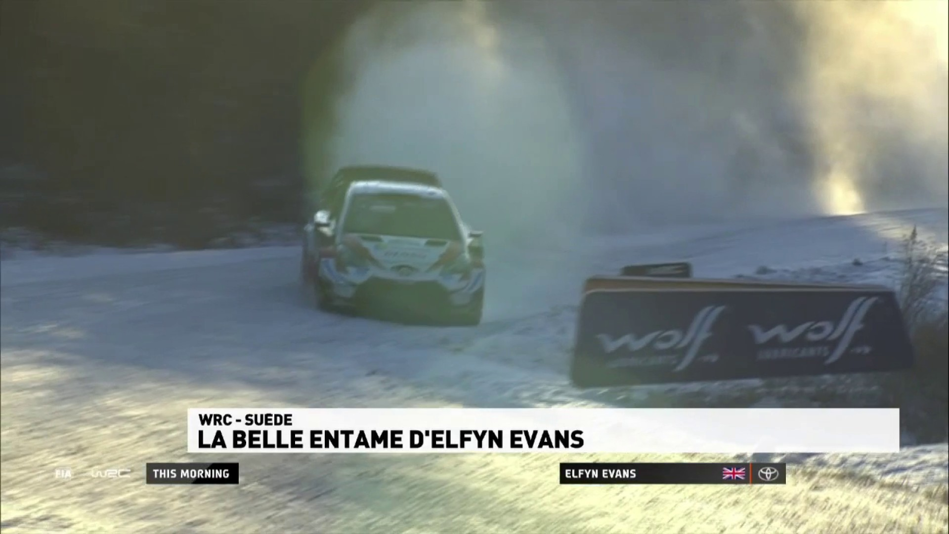Rallye de Suède - La belle entame d'Evans