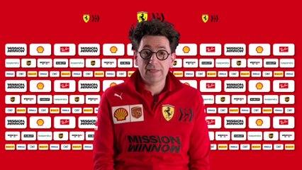 F1 Ferrari SF1000 - Entretien avec Mattia Binotto