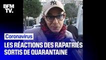 Coronavirus: les rapatriés sortis de quarantaine à Carry-le-Rouet témoignent de leur soulagement