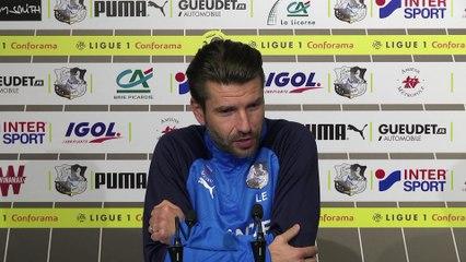 Conférence de presse d'avant Match, Amiens SC - PSG - Luka Elsner