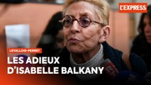 Isabelle Balkany : ses adieux à la mairie de Levallois-Perret