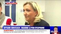 """Affaire Griveaux : la justice """"doit œuvrer pour déterminer qui sont les coupables de ces agissements"""" selon Marine Le Pen"""