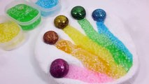 Edy Play Toys - Glue Slime Balloons Foam Clay Colors Finger Learn Colors And Surprise Egg Fun Toys For Kids