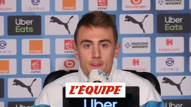 Rongier «On n'a pas beaucoup de jokers» - Foot - L1 - OM