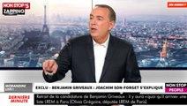 Scandale Benjamin Griveau : Joachim Son-Forget soupçonne un complot (Vidéo)