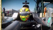 Esteban Gutiérrez, con pasos firmes a su regreso como piloto de F1