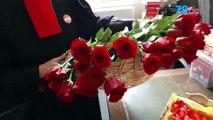 La Saint-Valentin des avocats grévistes du barreau de Versailles (Yvelines)