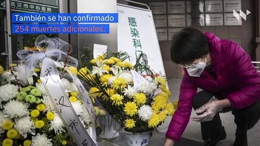 China confirma 15,152 nuevos casos de coronavirus