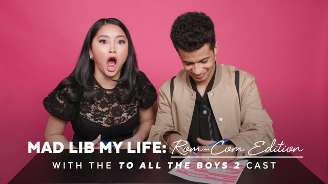 Lana Condor and Jordan Fisher Filled Out a Mad Libs Love Letter, and P.S. It's Adorable