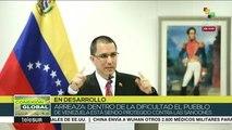 Gobierno venezolano denuncia en La Haya a EE.UU. por sus sanciones