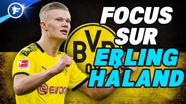 Erling Braut Haland, la machine à buts du Borussia Dortmund